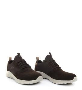 Edición Mil millones A bordo  Zapatillas De Piel Hombre Skechers Bounder-Skichr. 52587/BRN. | eBay