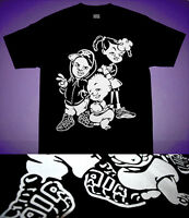 New1 Bebe Kids shirt in air uptempo more pippen shoes Blk scottie cajmear  L 2XL