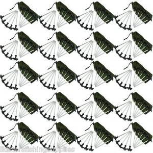 Image is loading 200-X-WHOLESALE-HEAVY-DUTY-CARP-FISHING-BIVVY-  sc 1 st  eBay & 200 X WHOLESALE HEAVY DUTY CARP FISHING BIVVY PEGS TENT PEGS BIVVY ...
