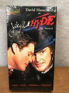 JEKYLL-amp-HYDE-THE-MUSICAL-VHS-DIRECT-FOR-BROADWAY-NEW-SEALED