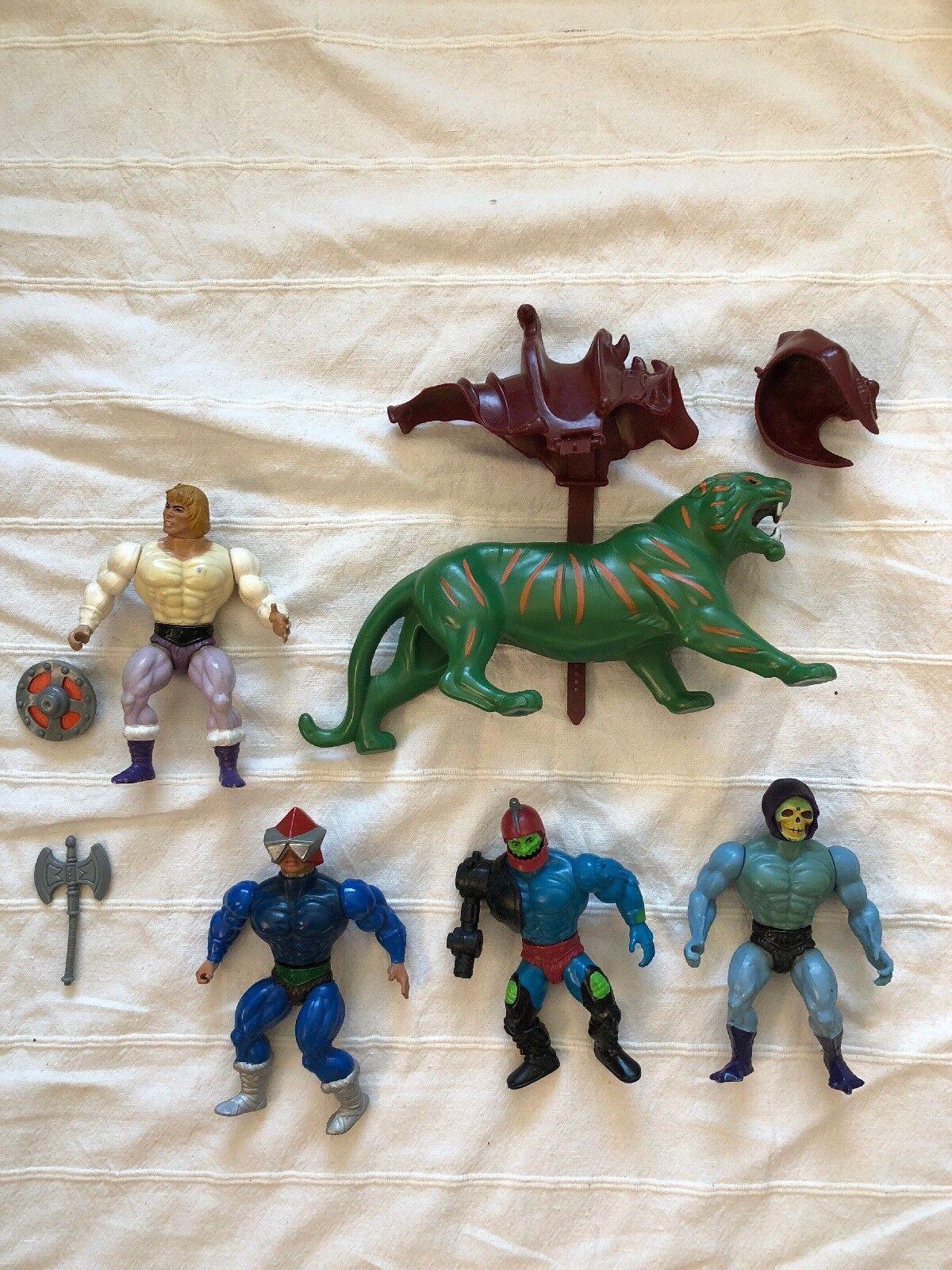 Mattel He Man Figures Original 80's Action Figures