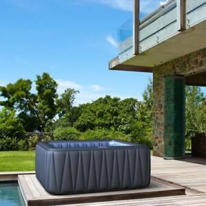 Whirlpool-MSpa-In-Outdoor-Pool-Wellness-Heizung-Massage-aufblasbar-Spa-185x185cm
