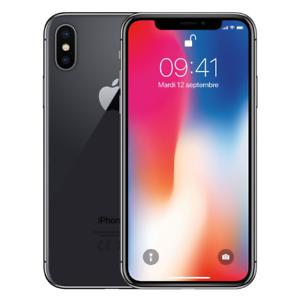 APPLE Iphone X 64Go Gris sidéral Reconditionné comme neuf