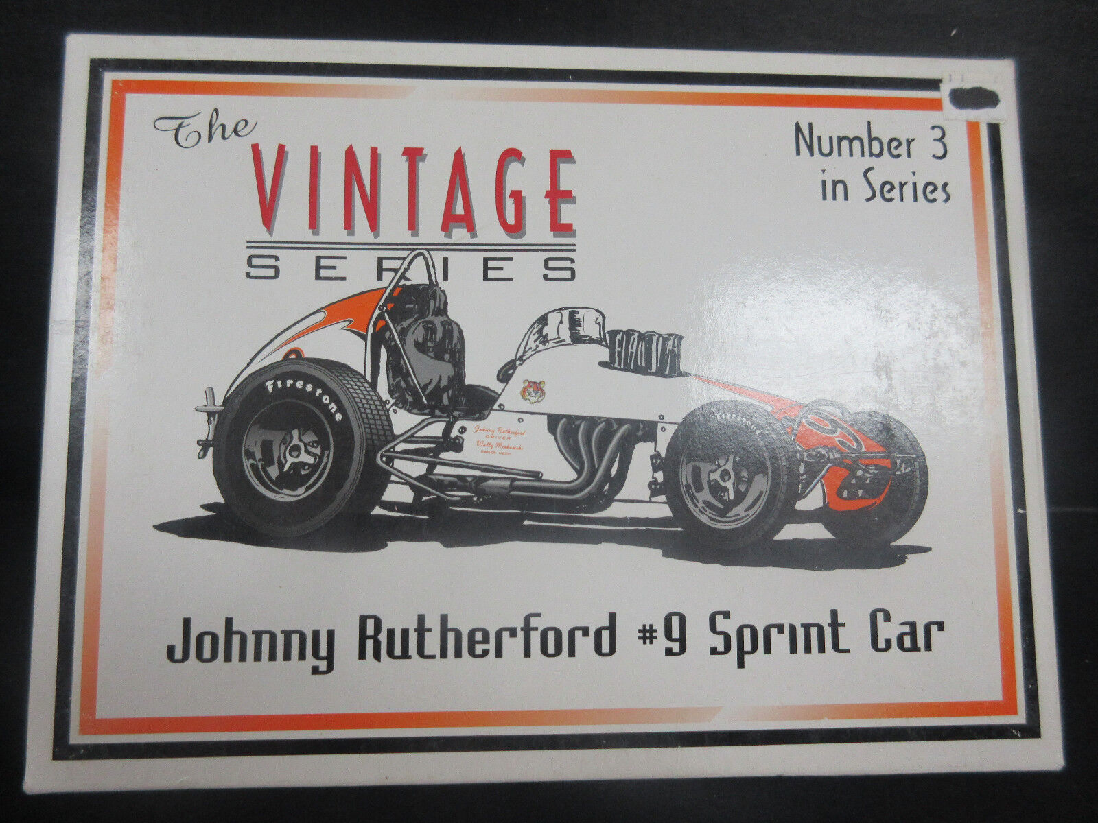 GMP Johnny Rutherford  18th coche escala Vintage Sprint