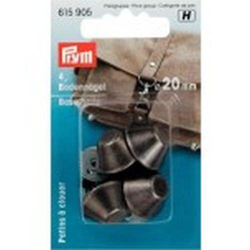 Prym Bodennägel für Taschen 20 mm altsilber 4 Stück  615905