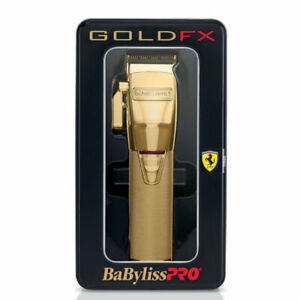 BabylissPro-FX870G-Cordless-Lithium-Ion-Adjustable-Clipper-Gold