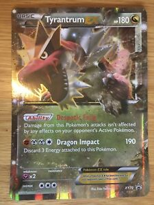 Details About Tyrantrum Ex Xy70 Jumbo Oversized Holo Foil Mint Pokemon Promo Card
