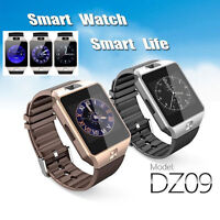 DZ09 Bluetooth Smart Watch Charm Phone Mate GSM SIM For Android iPhone Samsung