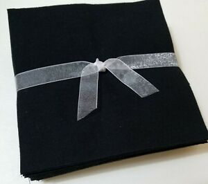 36-6-5-034-Solid-Black-Flannel-Fabric-Pre-Cut-Rag-Quilt-Squares