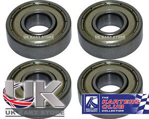 Stub-Axle-Bearings-10mm-x-26mm-6000zz-Pack-of-4-UK-KART-STORE