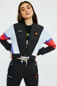 Ellesse-Womens-Track-Top-Retro-Jacket-Shell-Style-Adelina-Black-Purple-Red-New
