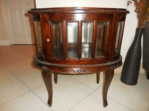 Image Is Loading Old Liquor Wood Cabinet Hand Made