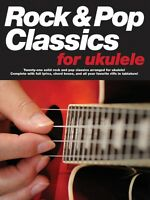Rock & Pop Classics For Ukulele Sheet Music Book 014037749