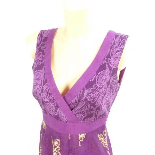 DE 36 S ESPRIT Kleid Sommerkleid Dress Lila Geblümt Gr