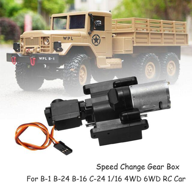 1//16 RC Car Metal Foot Pedal for WPL C14 C24 1//16 Military Truck RC Car