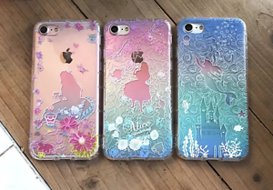 Cartoon Disney Princess Ariel Supreme Soft Cover Case For Iphone Xs