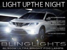 Xenon Halogen Fog Lamps Driving Lights Kit for 2014-2017 Nissan X-Trail Xtrail