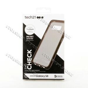 Tech21-Evo-Check-FlexShock-Samsung-Galaxy-S8-Snap-Case-Smokey-Clear-Black