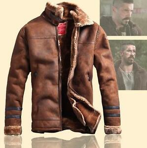 Men-Suede-Leather-Winter-Warm-Fur-Lined-Motorcycle-Thick-Coat-Outwear-Jacket