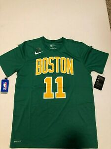 timeless design 42b03 f79c1 Details about Nike Boston Celtics Kyrie Irving Dri-FIT Shirt NWT  Green/Yellow Size: XXL #11