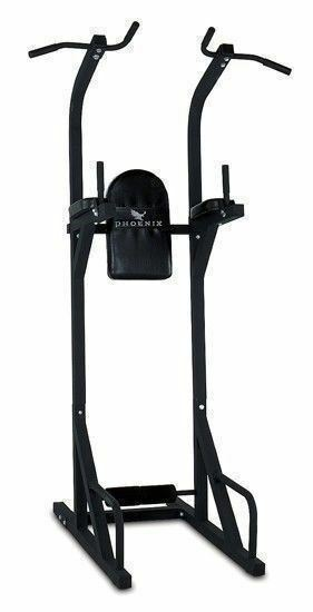 NEW Power Fitness Tower Home Gym Station Dip Pull Up Fitness Power Exercise Pull-Up Workout 55da82