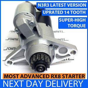 MAZDA-RX8-STARTER-MOTOR-UPRATED-2-2kW-2003-12-HIGH-TORQUE-14-TOOTH-N3R3-MANUAL