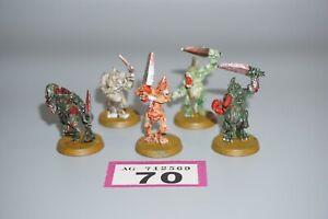 Warhammer-Chaos-Daemons-plaga-portadores-de-Nurgle-X-4-Lote-70