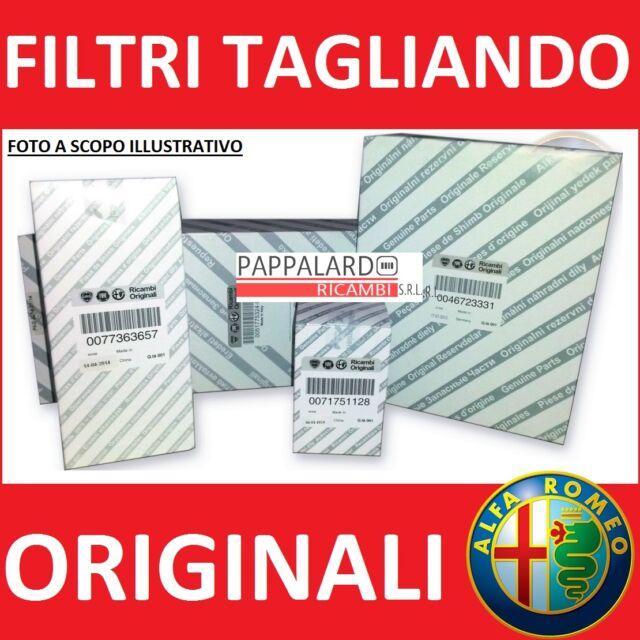 KIT TAGLIANDO FILTRI ORIGINALI ALFA ROMEO GIULIETTA 1.6 JTDM MULTIJET DIESEL