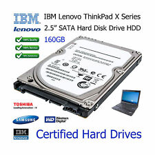 "160GB IBM Lenovo ThinkPad T400 2.5"" SATA Laptop Hard Disk Drive (HDD) Upgrade"