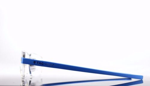 $550 Genuine TAG Heuer Reflex Pure Blue Azur EyeGlasses Frame TH 3941 010 56//16