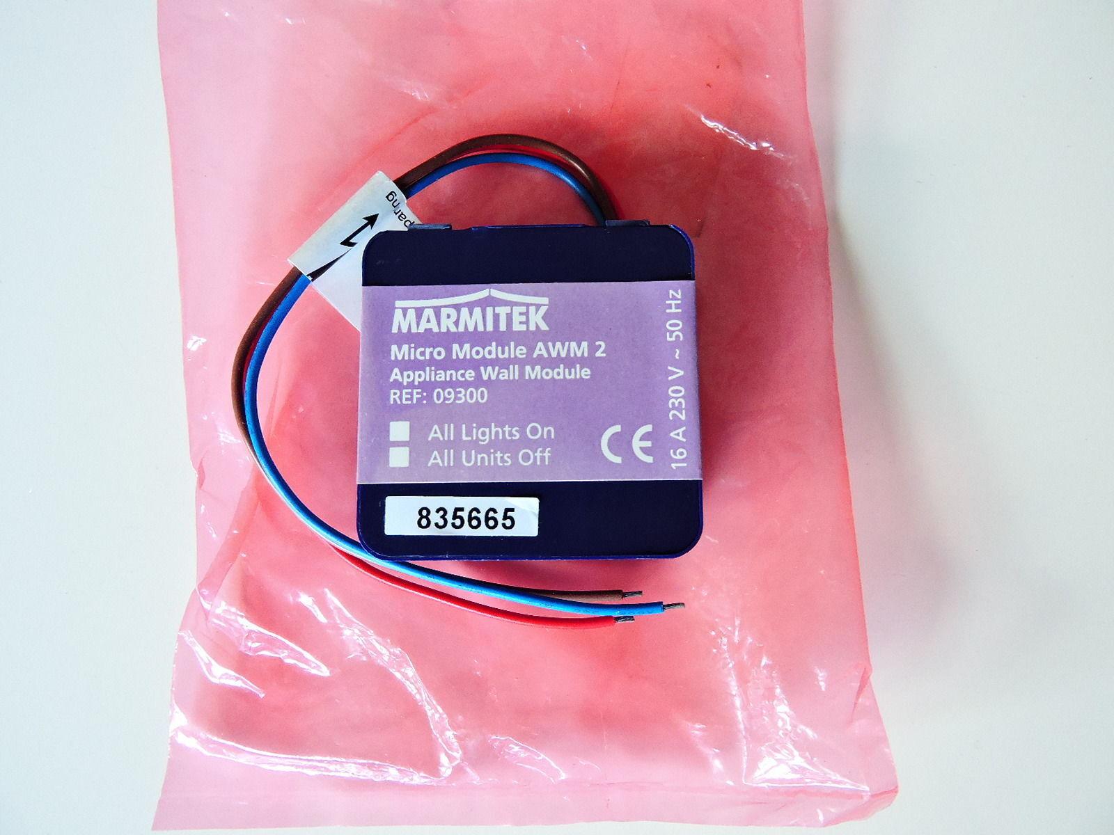 Marmitek AWM2 X10 Unterputz Micromodul 2Weg Hausautomation erweitert AW12 Modul | Outlet Online Store