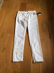 Bnwt 12 Jean Blanc N3 Taille Femme Cain Marc pantalon vf85qzxB