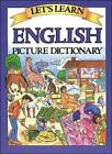Let's Learn English Picture Dictionary by Marlene Goodman (Hardback, 2003)