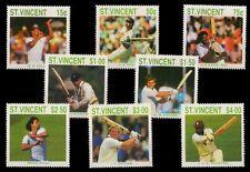 St. Vincent 1988-Famous Cricketers of Inter. season Kapil Dev, Gawaskar etc.