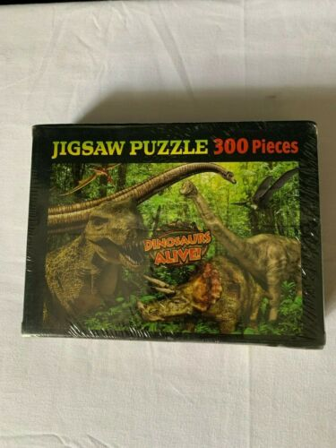 Factory Sealed NEW Dinosaurs Alive 300 Piece Jigsaw Puzzle