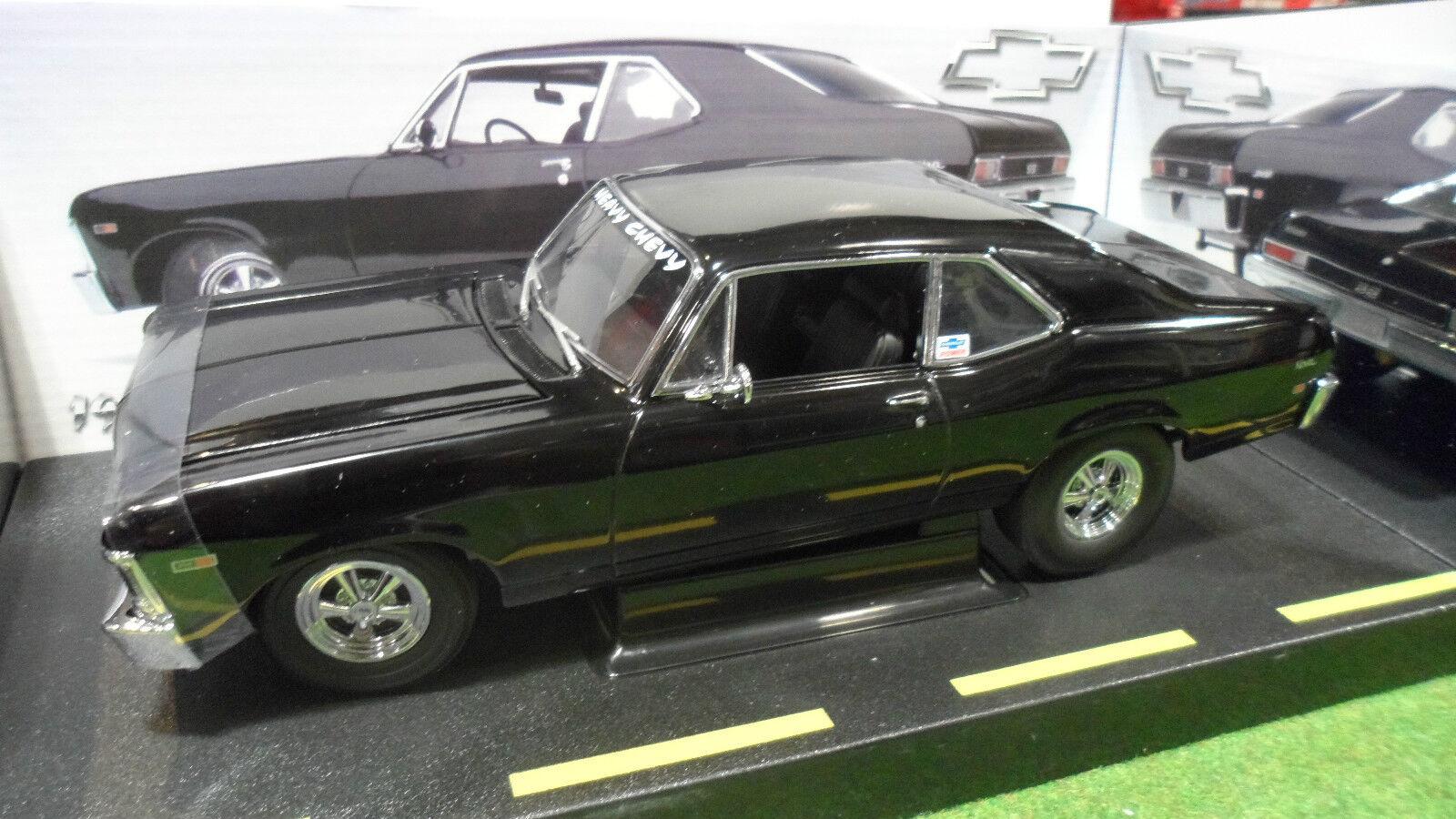 CHEVROLET NOVA SS 396 PRO STREET 1968 1 18 GMP 8025 voiture miniature collection
