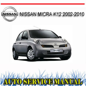 nissan micra k12 2002 2010 service repair manual dvd ebay rh ebay com au 2018 Nissan March 2000 Nissan March K11 From Japan