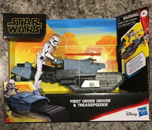 Hasbro STAR WARS Galaxie des aventures-première commande conducteur et treadspeeder...