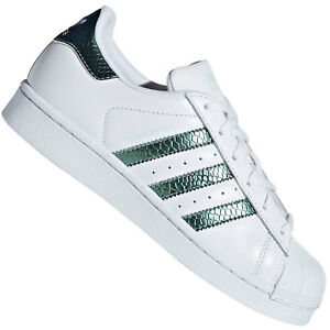 Details about Adidas Originals Superstar Junior Kids Ladies Trainer Shoes  Shimmer Metallic- show original title