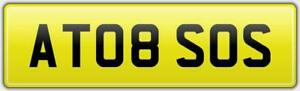 A-TO-B-REG-NUMBER-PLATE-AT08-SOS-A2B-RECOVERY-24HR-RESCUE-TOW-LORRY-PLUMBING