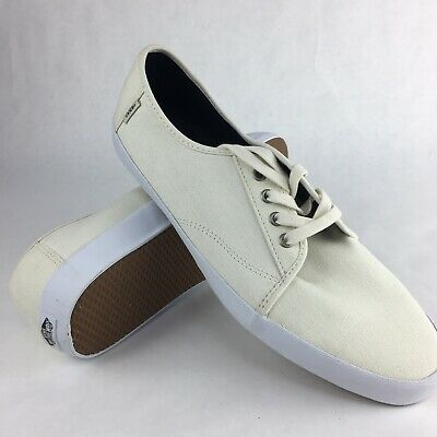 Vans Off The Wall Surf Costa Mesa Marshmallow White Shoes Mens Size 13 | eBay
