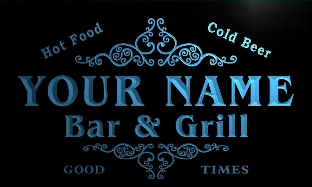u09899-r CURFMAN Family Name Bar /& Grill Cold Beer Neon Light Sign