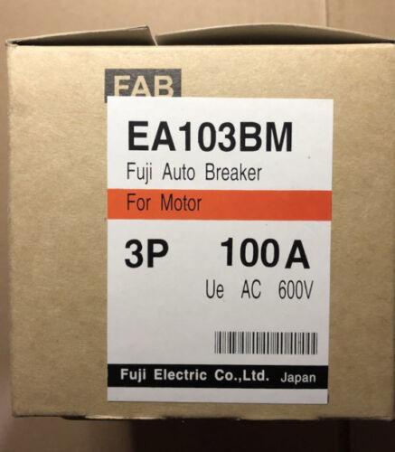 Fst  New  FUJI  EA103BM 3P 100A  circuit  breaker  free shipping