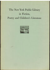 The New York Public Library 1956 Fiction, Poetry and Children's Literature