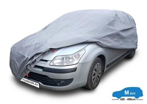 funda exterior para coche Talla M Suv//Van 420-450cm Lona