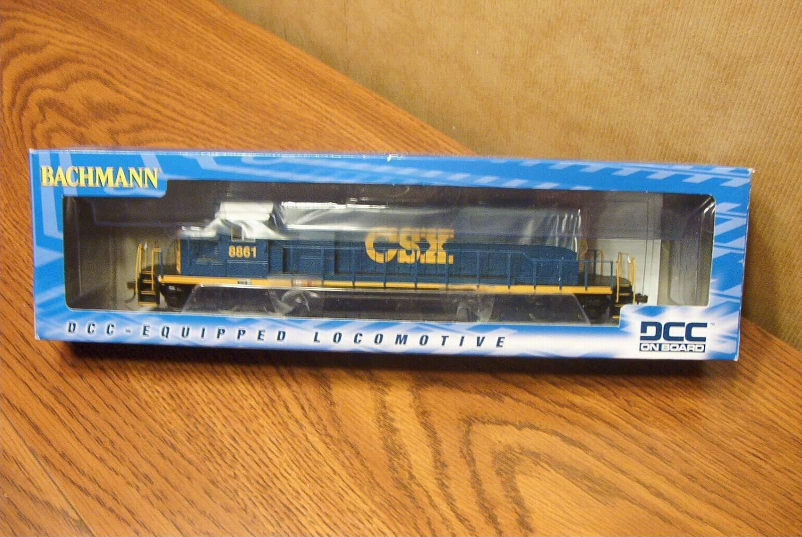 Bachmann Locomotora Diesel EMD SD40-2 CSX Futuro Oscuro ()  8861 DCC ESCALA HO