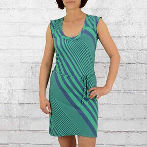 12eddea1fad Das Bild wird geladen ATO-Berlin-Frauen-Kleid-Rosamunde-blau-gruen-Damen-