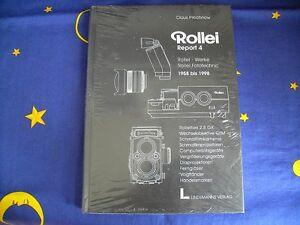 Rollei-Werke Rollei Fototechnic 1958-1998 - Rollei Report 4 von Claus Prochnow - Deutschland - Rollei-Werke Rollei Fototechnic 1958-1998 - Rollei Report 4 von Claus Prochnow - Deutschland