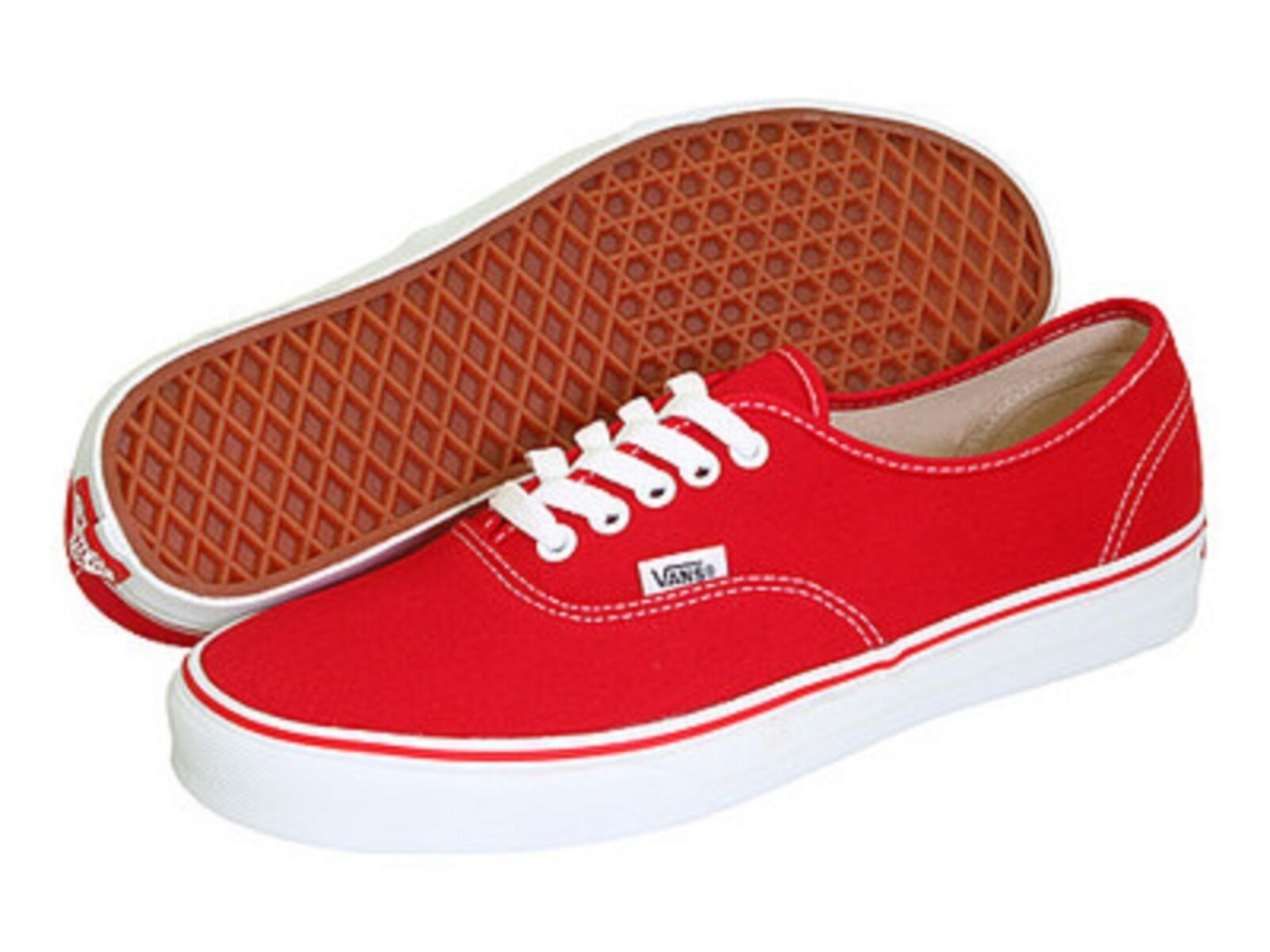 VANS CLASSIC AUTHENTIC rot herren ATHLETIC schuhe NEW WITHOUT BOX