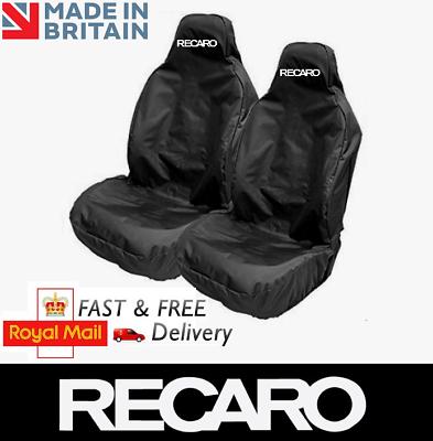 NEW FORD RECARO SPORTS BUCKET CAR SEAT COVERS PROTECTORS X2 EXTRA HEAVY DUTY